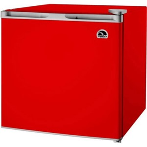 igloo red fridge