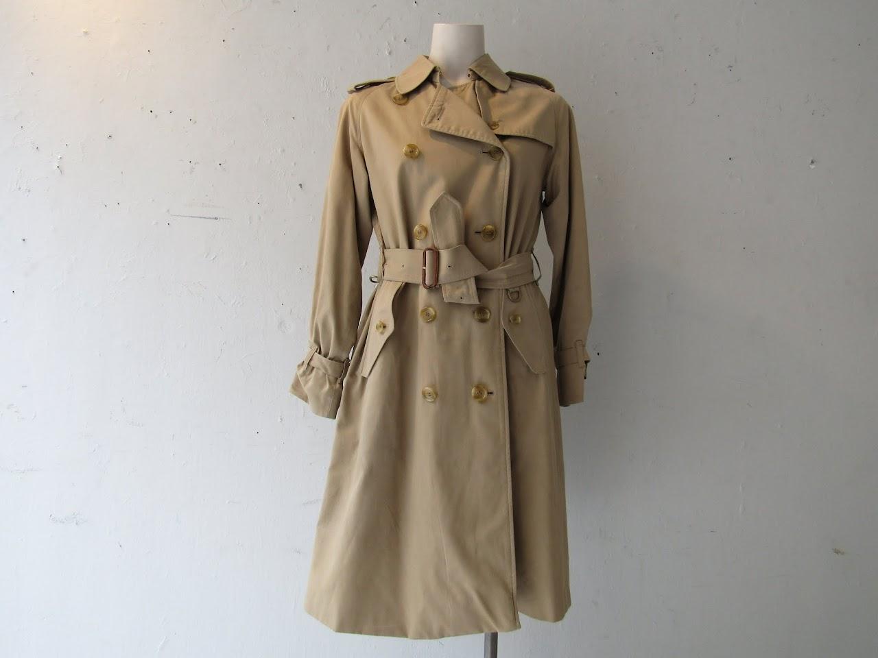 Burberry's Classic Tan Trenchcoat