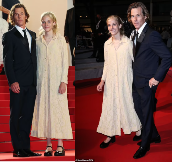 Julia Robert's daughter Hazel, 16, makes her red carpet debut in rare public appearance with dad Daniel Moder