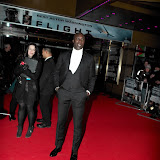 WWW.ENTSIMAGES.COM -   Ozwald Boateng   arriving at Flight UK Film Premier Empire Leicester Square London January 17th 2013                                                     Photo Mobis Photos/OIC 0203 174 1069