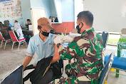 Nakes RSAU dr. Siswanto Lanud Smo Tetap Semangat Layani Vaksinasi Untuk Masyarakat