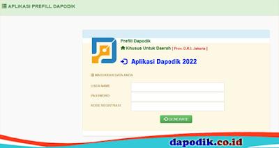 Aplikasi Dapodik 2022 Offline Online Terbaru