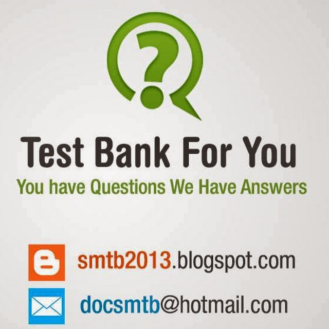 Test bank for you - Google+