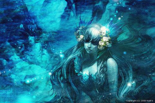 Deep Blue Mermaid, Undines