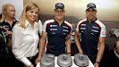 600 F1 Grand Prix starts for Williams: Sussie Wolff, Valteri Bottas, Pastor Maldonado