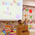 Show and Tell Activity of Playgroup Evening Section at Witty World, Chikoowadi (2017-18)