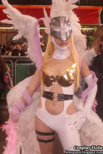 digimon cosplay - angewomon