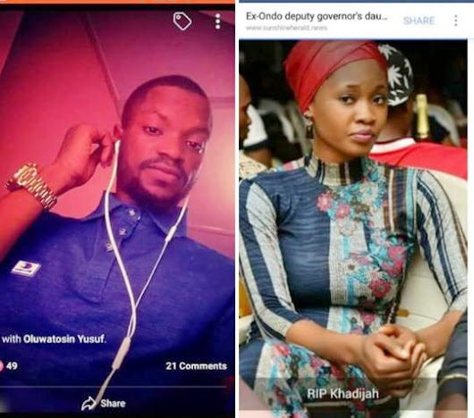 Daughter Of Ex-deputy Governor Of Ondo State Allegedly Murdered By Boyfriend