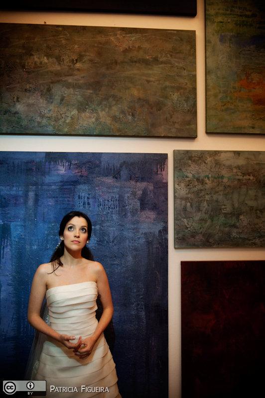 Foto de casamento 0502 de Fabiana e Guilherme. Marcações: 29/10/2010, Casamento Fabiana e Guilherme, Fotos de Vestido, Glorinha Pires Rebelo, Rio de Janeiro, Vestido, Vestido de Noiva.
