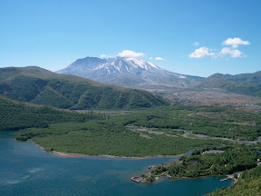 Coldwater Lake, Mt. St. Helens