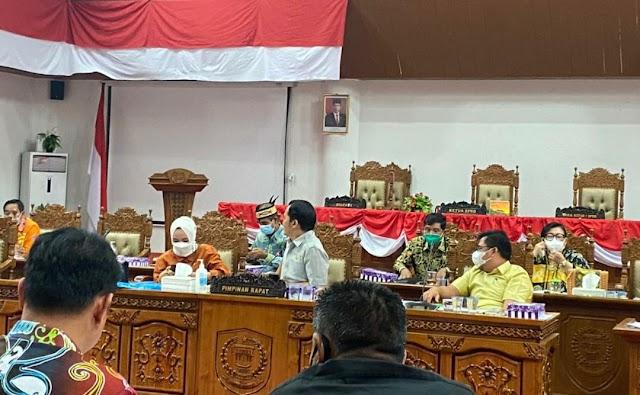 Jelang Paripurna, DPRD Pulpis Gelar Rapat Gabungan Bahas Anggaran Perubahan 2021