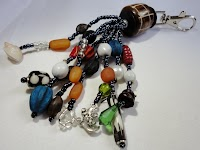 Bag Charm (Mixed African Beads & Stones)
