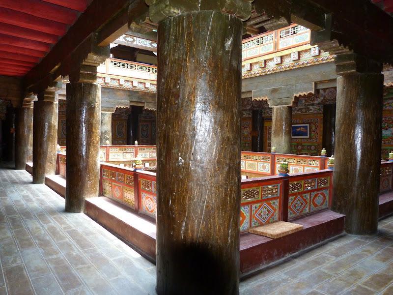 le musée n a que trois ans mais  les piliers en bois ont 1500 ans
