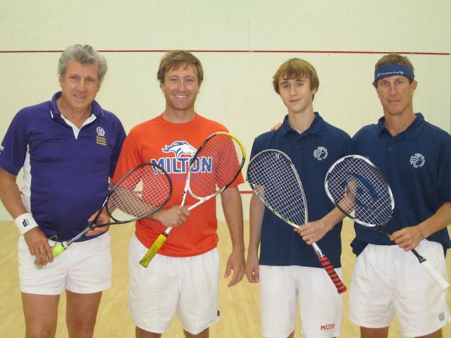 2012 State Parent-Child Doubles: Finalists - Tom & Morgan Poor; Champions - Carson & Chris Spahr