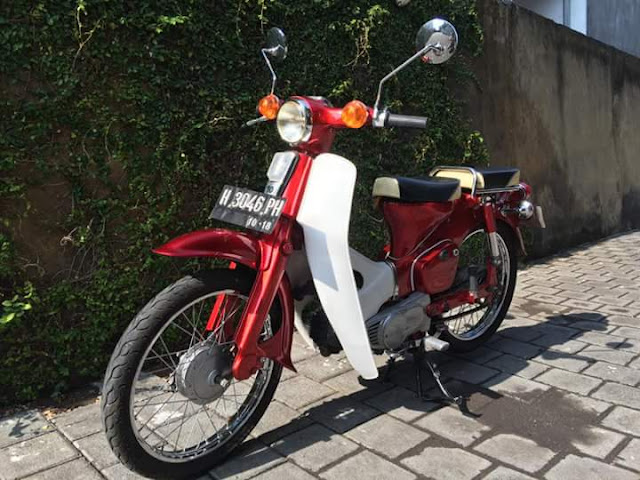 Dijual Honda Kalong C70 Superklasik - BALI