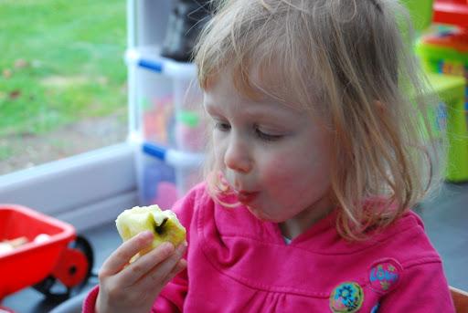 Een appeltje voor de honger