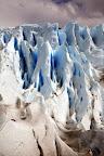 Crevasses (Perito Moreno Glacier Outside El Calafate, Argentina)