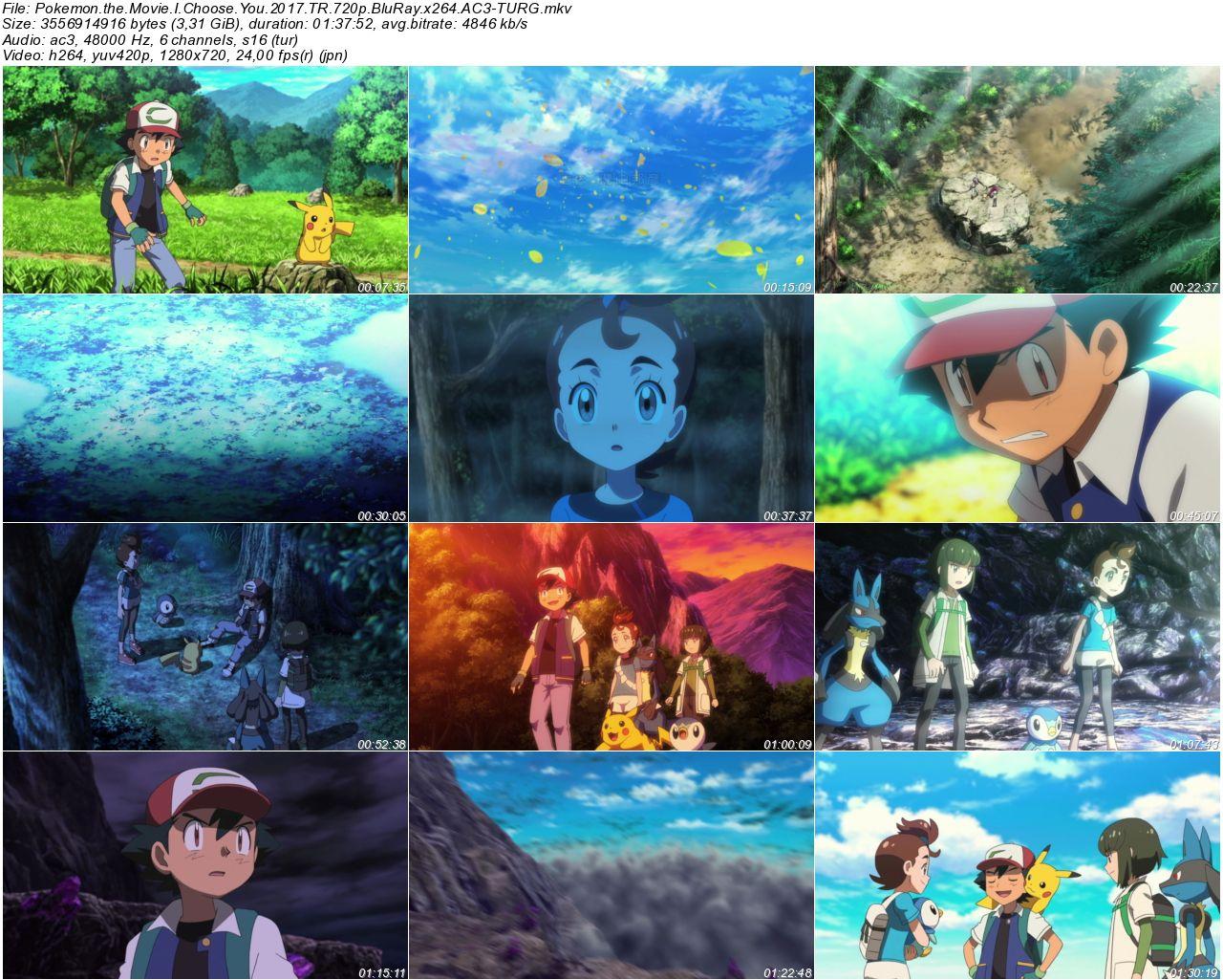 Pokemon the Movie I Choose You 2017 - 1080p 720p 480p - Türkçe Dublaj Tek Link indir