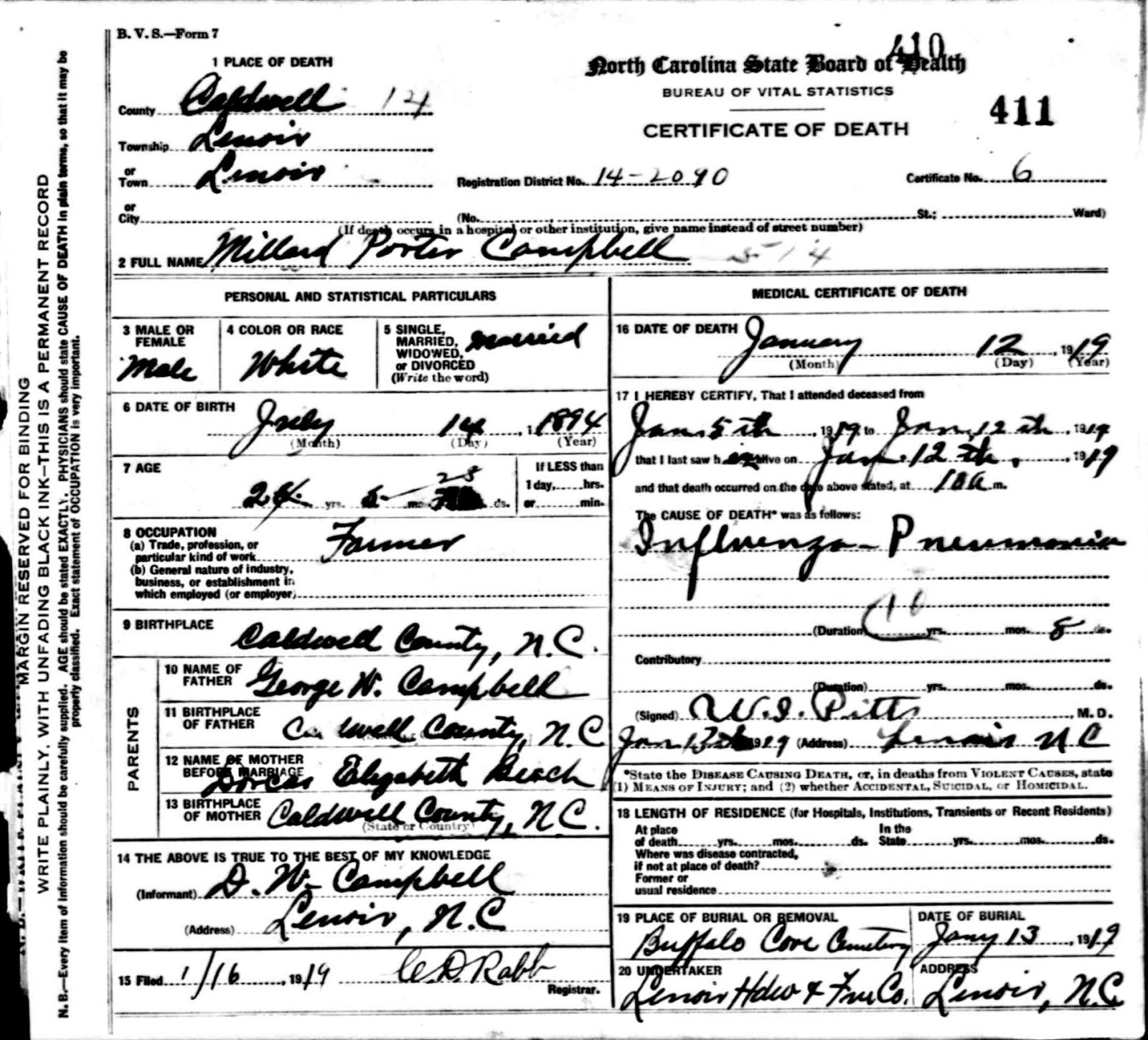 The edward coffey project margaret elizabeth bessie coffey she was born aug 29 1894 in buffalo cove caldwell co and married millard porter campbell on sep 24 1916 in yadkin valley millard was born jul aiddatafo Image collections