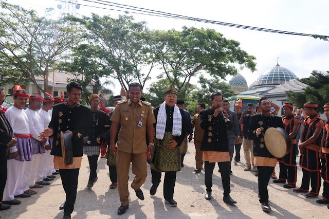 Bupati Kabupaten Serdang Kunker Revitalisasi Budaya Ke Aceh Timur