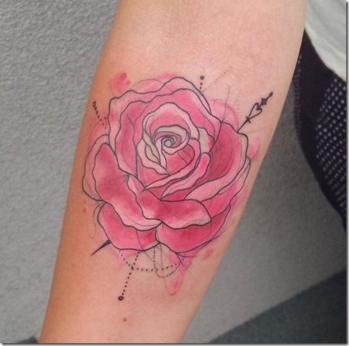 Tatuajes De Rosas Hermosas E Inspiradoras Tatuajes247