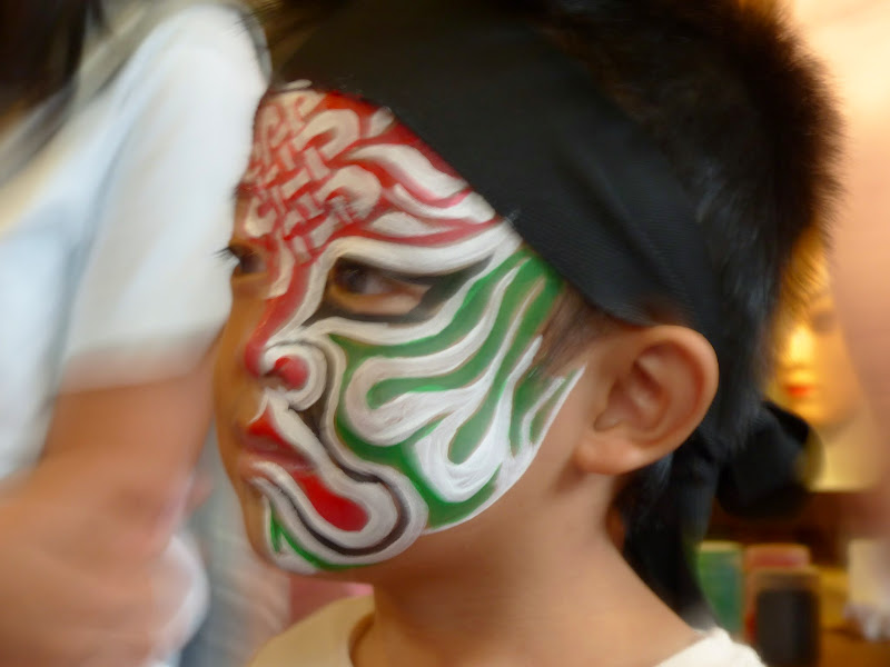 Taipei. Maquillage au Thinker s theater à Di Rua jie 迪化街 - maquillage1%2B034.JPG
