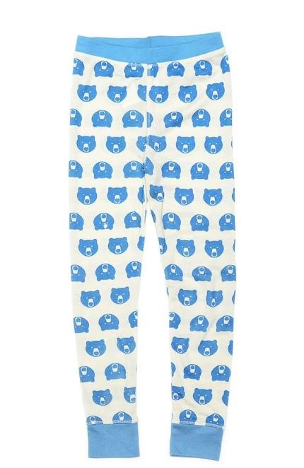 Підштанники у блакитні ведмедики (вовна)