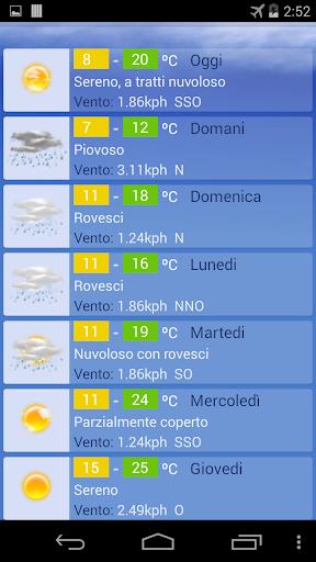 Meteo Torino screenshot 2
