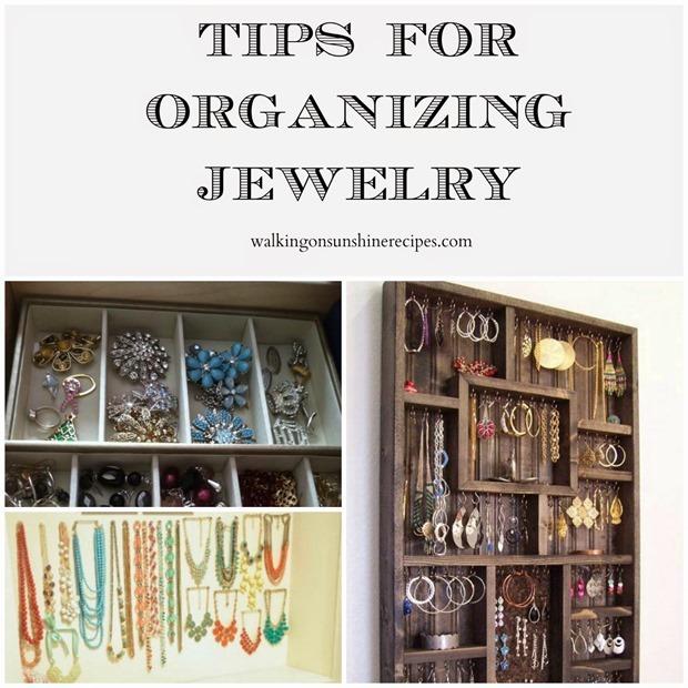 Organizing Jewelry promo