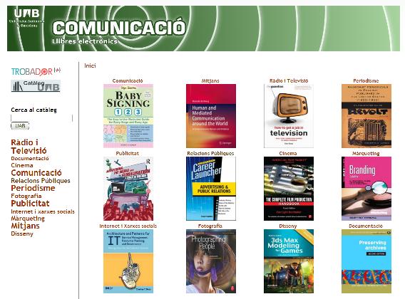 Comunicacio llibres electronics