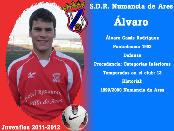 ADR Numancia de Ares. Xuvenís 2011-2012. ALVARO.