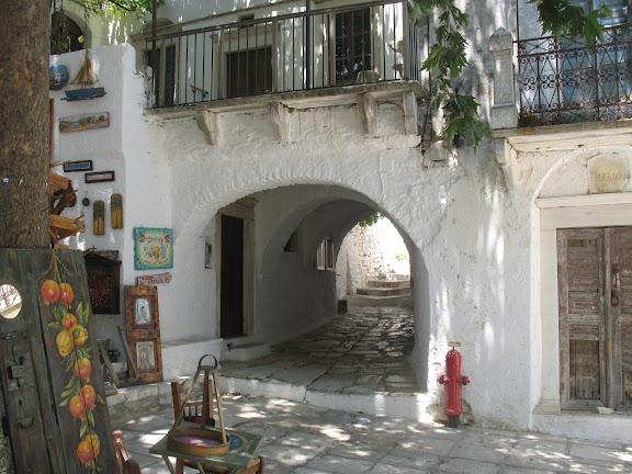 Apiranthos, en Naxos