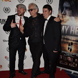 OIC - ENTSIMAGES.COM - Nathanael Wiseman,  Elliot Grove and Robert Osman at the  My Hero Film Premiere at Raindance Film Festival London 25th September 2015 Photo Mobis Photos/OIC 0203 174 1069