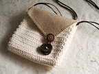 Crochet Bag with Felt Flap!