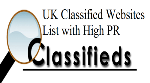 Free UK Classified Sites List