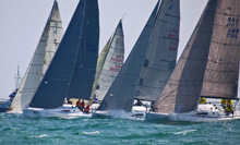 J/111 one-design sailing- SPI Ouest France regatta