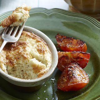 Cottage Cheese and Salmon Soufflés.
