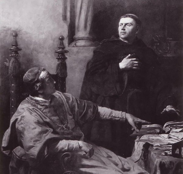 Luther interviewed by Cajetan