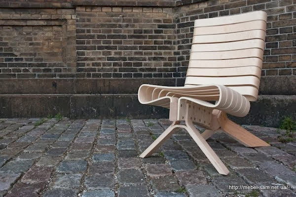 Кресло из гнутоклееной фанеры CPH15 от Joel Seigle