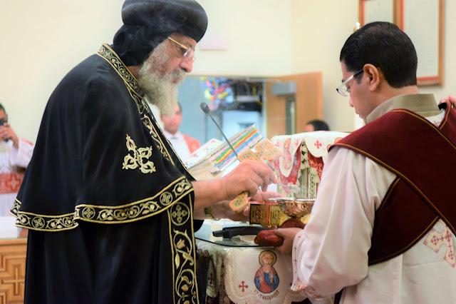 His Holiness Pope Tawadros II visit to St. Mark LA - DSC_0204.JPG
