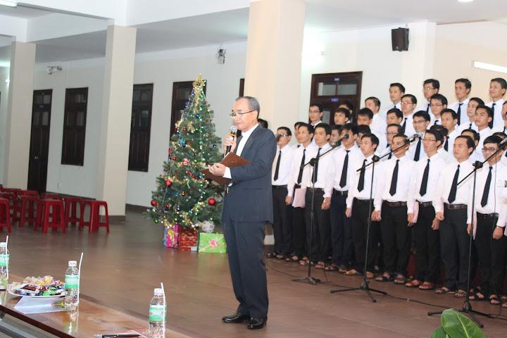 Thánh ca mừng Chúa Giáng Sinh và ngày hội phụ huynh tại Chủng viện Lâm Bích