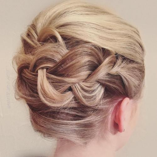 The trendy Wedding Hairstyles For And include hair color 2017 3