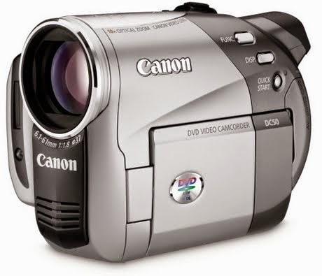 Canon+DC50+5MP+DVD+Camcorder+with