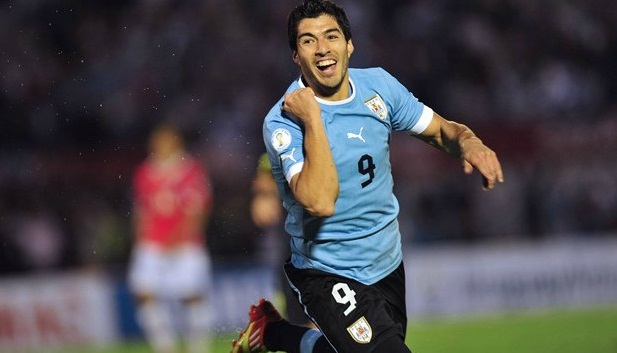 Fotos uruguay vs chile (4-0)