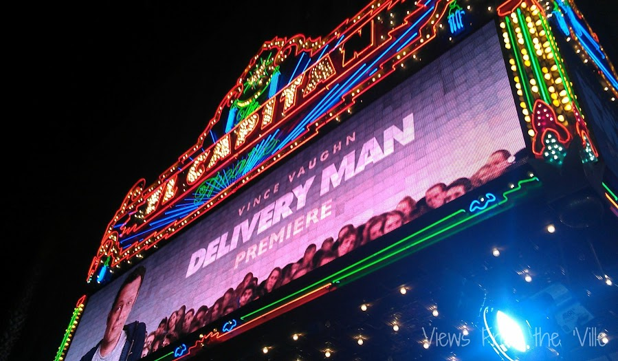 Delivery Man Red Carpet Premiere at the El Capitan Theatre #DeliveryManEvent