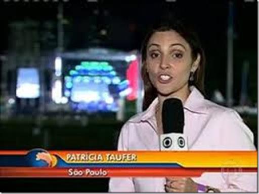 Patrícia Taufer, jornalista