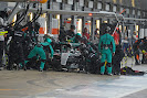 Nico Rosberg, Mercedes W06 pit stop for intermediates
