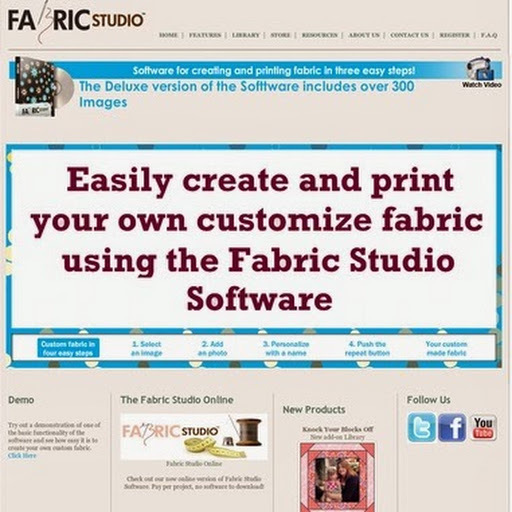 Fabric Studio Lets you create your own artistic designs