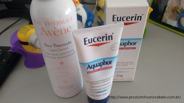 Eucerin e agua thermal
