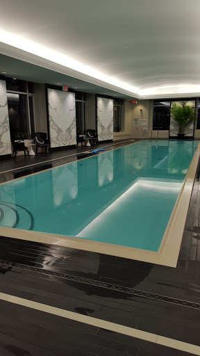 love swimming in hotel pools!